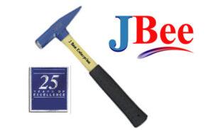 16oz. fiberglass riveting handle sheet metal hammer 16THFG2