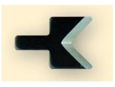 Replacement Deburring Blade for D1 V Style deburring tool